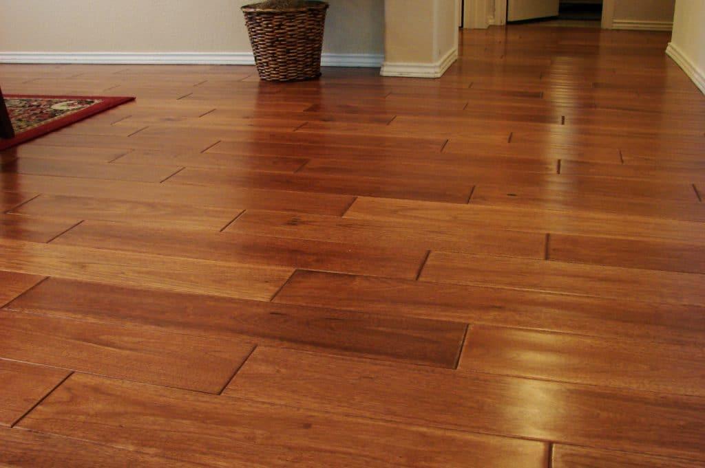Picture of hardwood floor